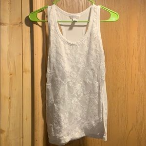 Ambiance apparel white tank
